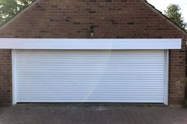 Aluminium Roller Door White Elite Doors